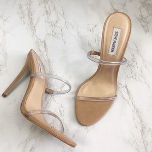 Steve Madden MINA Nude Mule Sandal